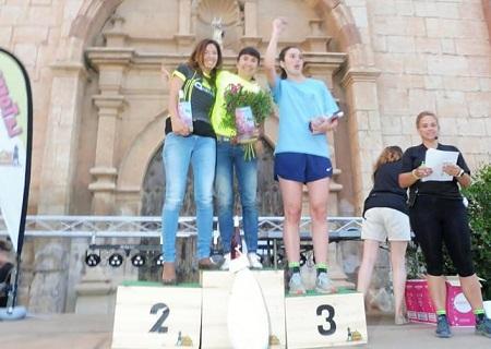 Vanesa Navarro, Elena Sanz y Paloma Goez completaron el pódium femenino absoluto de la quinta edición de la Torre de las Arcas Trail.
